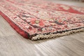 Antique Floral Mahal Persian Area Rug 4x7 image 6