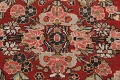 Antique Floral Mahal Persian Area Rug 4x7 image 11