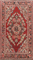 Antique Floral Mahal Persian Area Rug 4x7 image 1