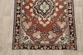 Antique Floral Mahal Persian Area Rug 4x6 image 8