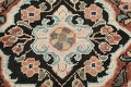 Antique Floral Mahal Persian Area Rug 4x6 image 10