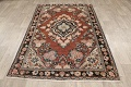 Antique Floral Mahal Persian Area Rug 4x6 image 14