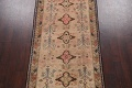 Antique Vegetable Dye Sultanabad Persian Runner Rug 4x9 image 3