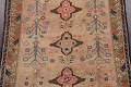 Antique Vegetable Dye Sultanabad Persian Runner Rug 4x9 image 4