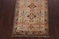 Antique Vegetable Dye Sultanabad Persian Runner Rug 4x9 image 8