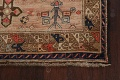 Antique Vegetable Dye Sultanabad Persian Runner Rug 4x9 image 5