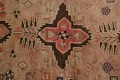 Antique Vegetable Dye Sultanabad Persian Runner Rug 4x9 image 9