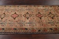 Antique Vegetable Dye Sultanabad Persian Runner Rug 4x9 image 15