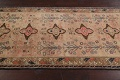 Antique Vegetable Dye Sultanabad Persian Runner Rug 4x9 image 17