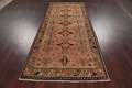 Antique Vegetable Dye Sultanabad Persian Runner Rug 4x9 image 18