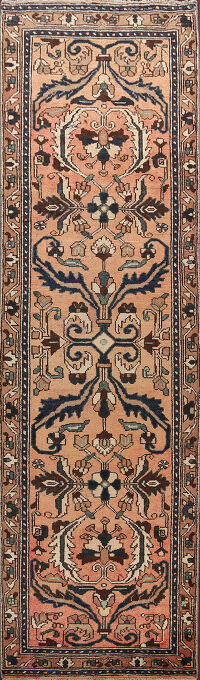 All-Over Lilian Persian Runner Rug 3x10