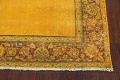 Antique Over-dyed Kerman Persian Runner Rug 4x21 image 5