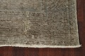 Muted Distressed Tabriz Persian Runner Rug 3x13 image 5