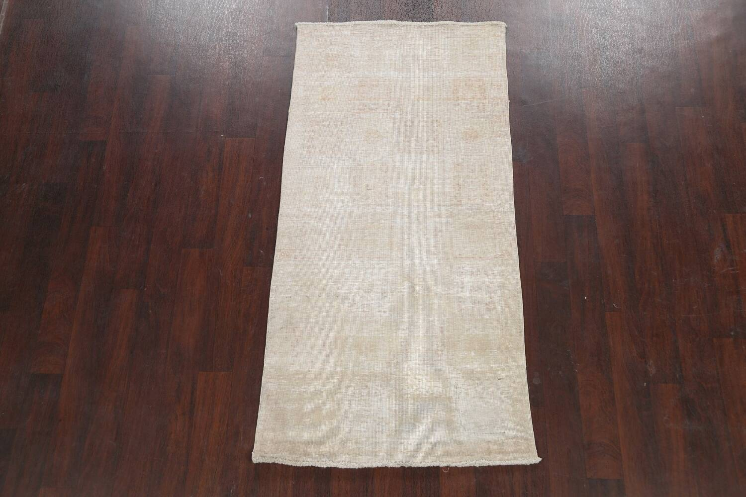 Muted Distressed Tabriz Persian Area Rug 3x6 image 2