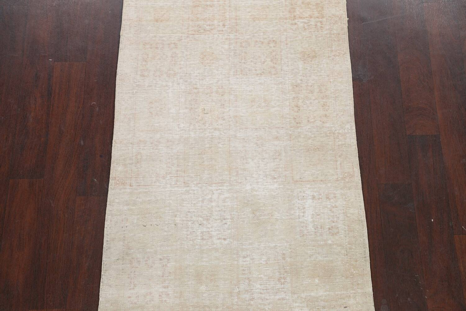 Muted Distressed Tabriz Persian Area Rug 3x6 image 3