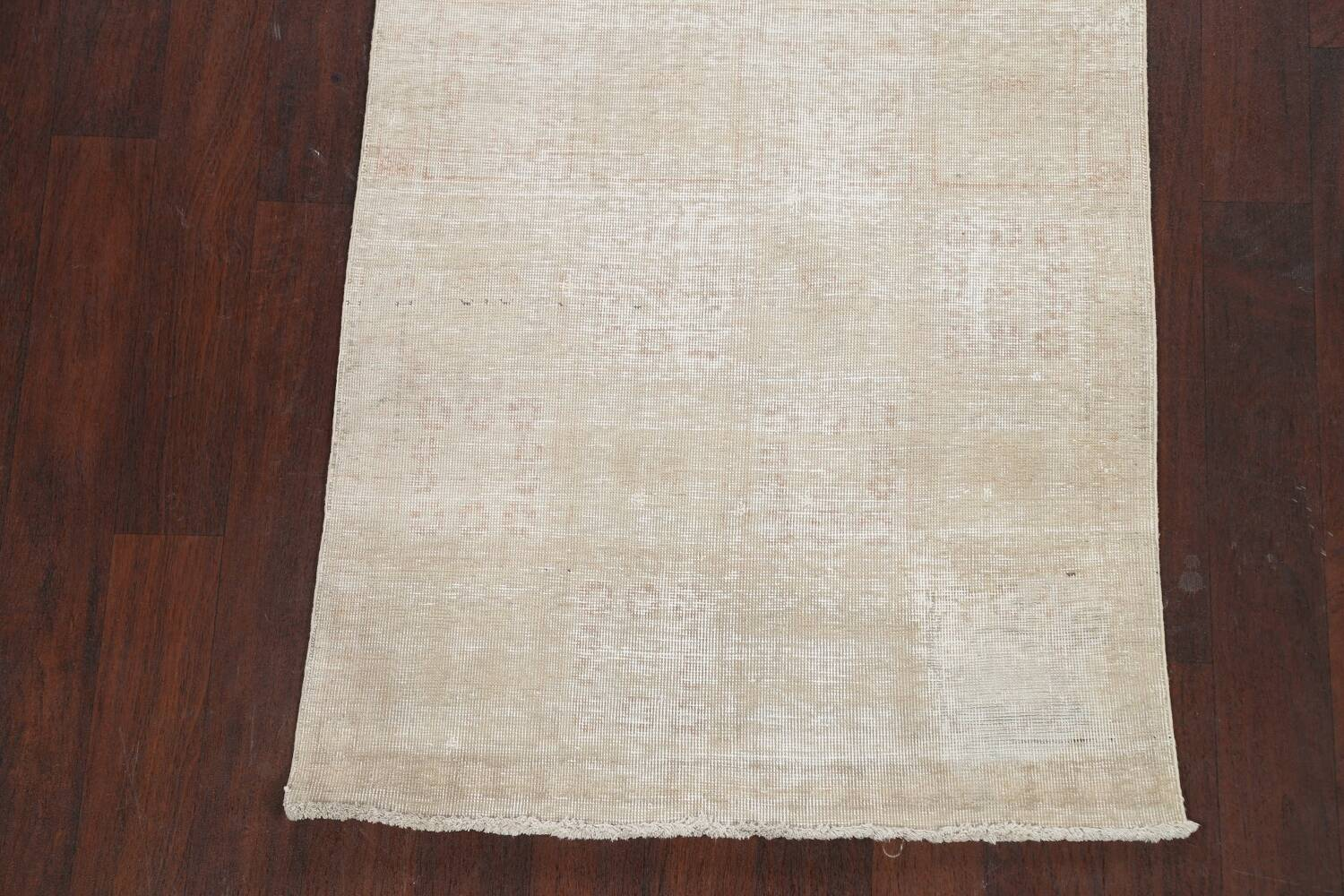 Muted Distressed Tabriz Persian Area Rug 3x6 image 8
