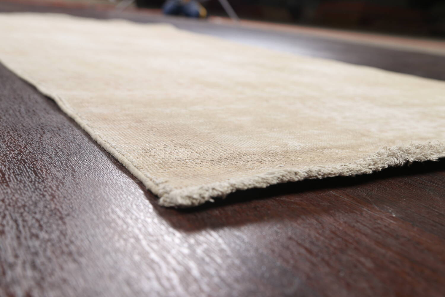 Muted Distressed Tabriz Persian Area Rug 3x6 image 6