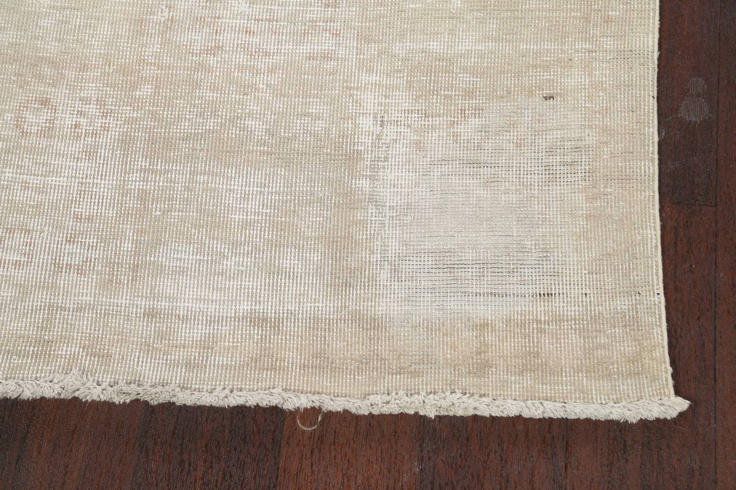 Muted Distressed Tabriz Persian Area Rug 3x6 image 5