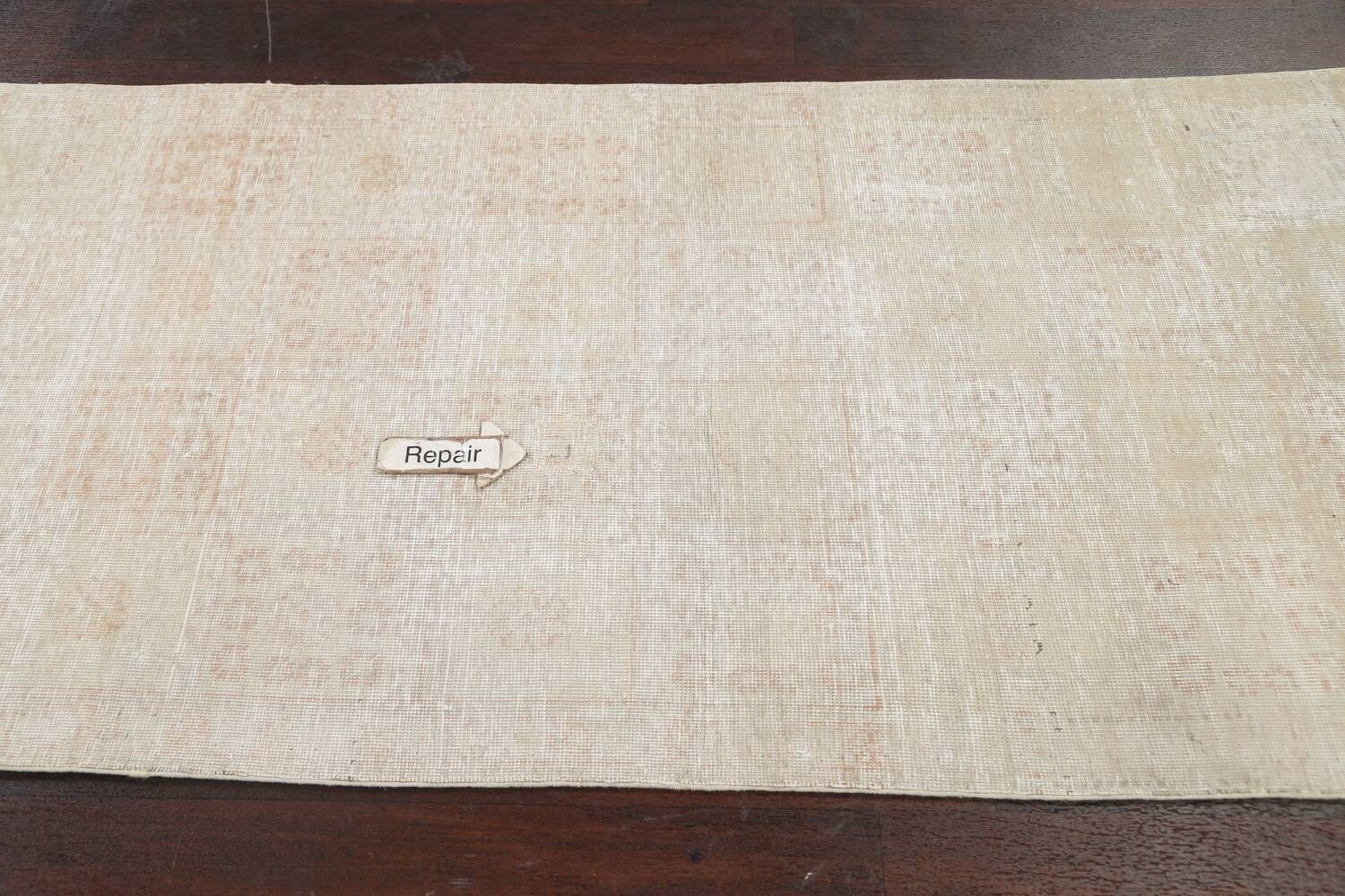 Muted Distressed Tabriz Persian Area Rug 3x6 image 15
