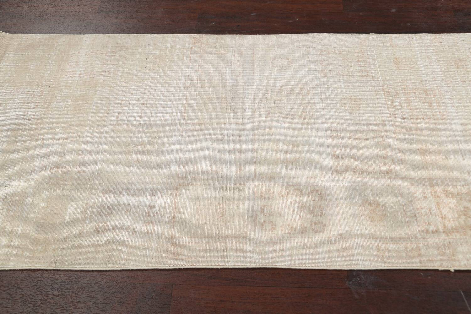 Muted Distressed Tabriz Persian Area Rug 3x6 image 17