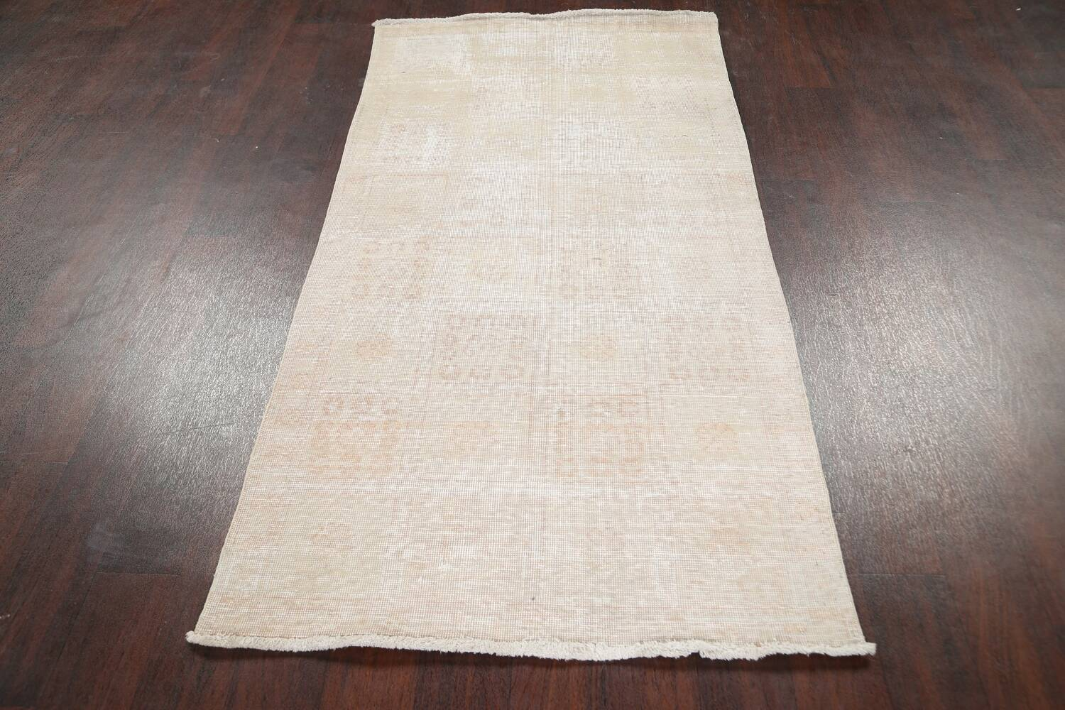 Muted Distressed Tabriz Persian Area Rug 3x6 image 18