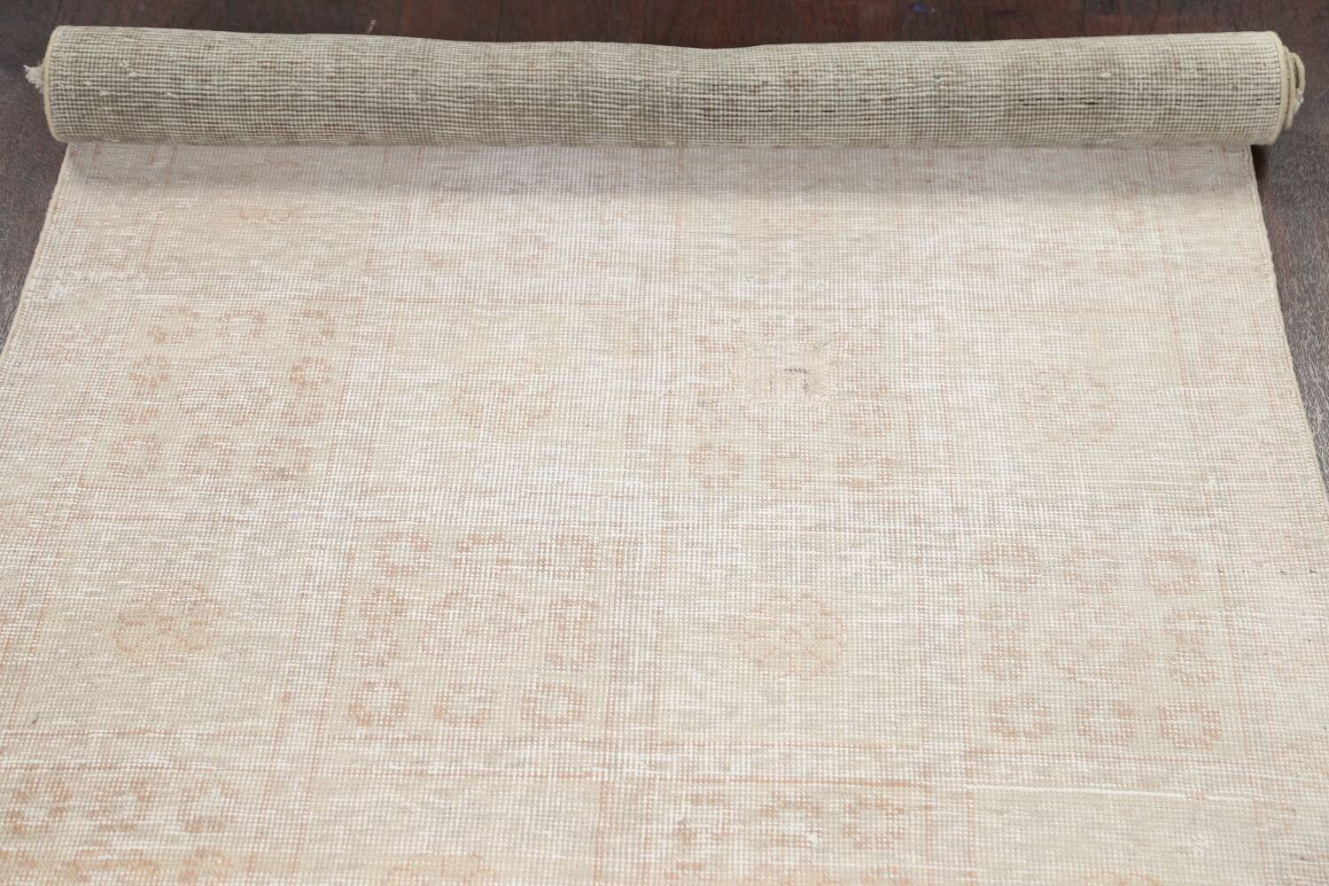 Muted Distressed Tabriz Persian Area Rug 3x6 image 19