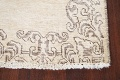 Muted Distressed Bordered Tabriz Persian Runner Rug 3x15 image 5