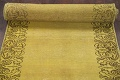 Over-dyed Bordered Tabriz Persian Runner Rug 3x15 image 18