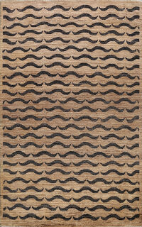 All-Over Gabbeh Kashkoli Oriental Area Rug 5x8