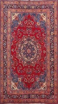 Floral Mashad Persian Area Rug 6x10