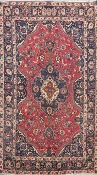 Floral Mashad Persian Area Rug 6x9