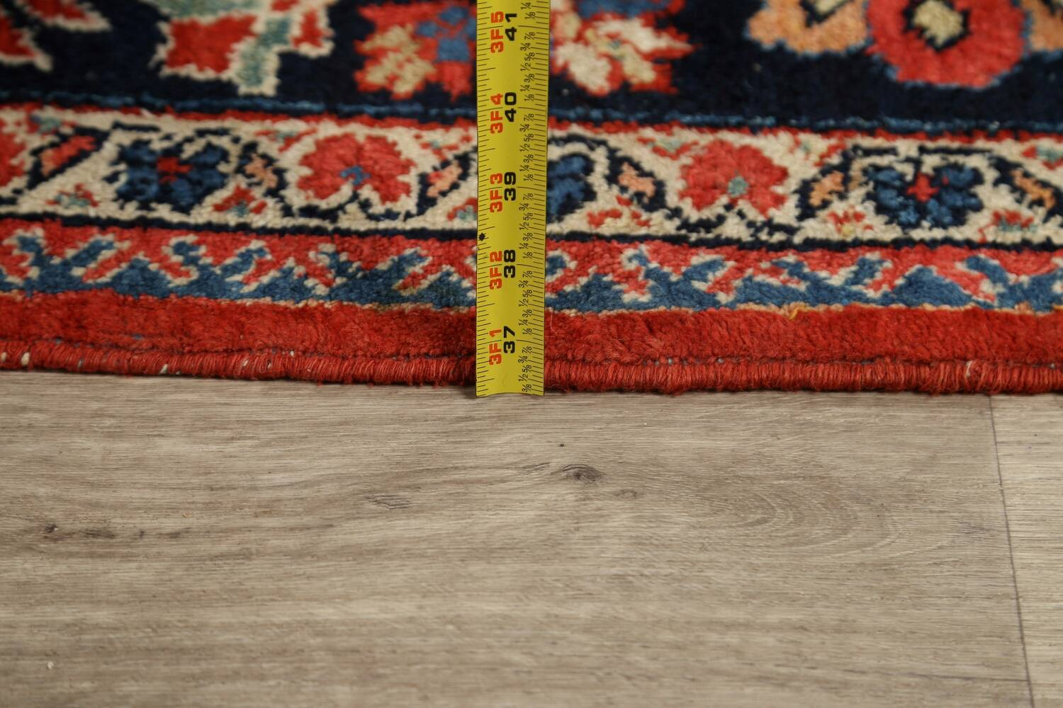Antique Vegetable Dye Sultanabad Persian Area Rug 9x12 image 18