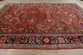Antique Vegetable Dye Sultanabad Persian Area Rug 9x12 image 13