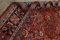 Antique Vegetable Dye Sultanabad Persian Area Rug 9x12 image 16