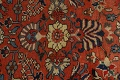 Pre-1900 Antique Vegetable Dye Sultanabad Persian Area Rug 10x14 image 10
