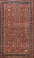Pre-1900 Antique Vegetable Dye Sultanabad Persian Area Rug 10x14 image 1