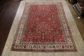 Antique Floral Mahal Persian Area Rug 10x14 image 2