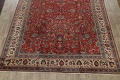Antique Floral Mahal Persian Area Rug 10x14 image 8