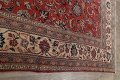 Antique Floral Mahal Persian Area Rug 10x14 image 17