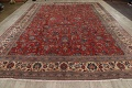Antique Floral Mahal Persian Area Rug 10x14 image 19