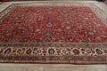 Antique Floral Mahal Persian Area Rug 10x14 image 18