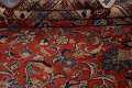 Antique Floral Mahal Persian Area Rug 10x14 image 20