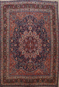 Antique 100% Vegetable Dye Dorokhsh Persian Area Rug 11x14
