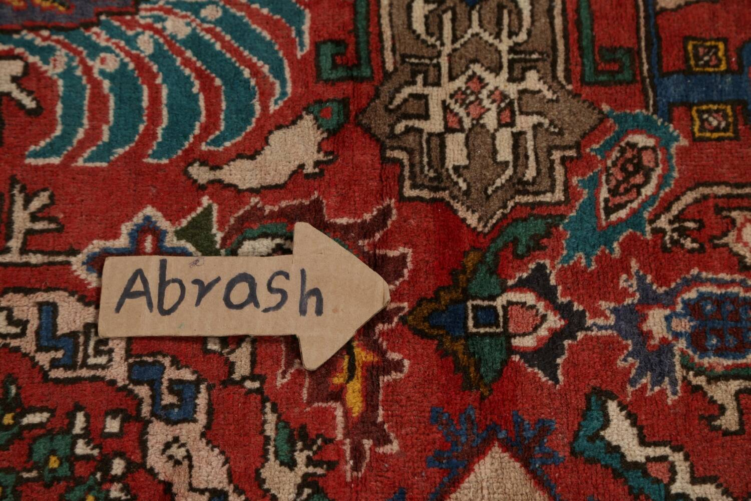 All-Over Pictorial Tabriz Persian Area Rug 9x11 image 12