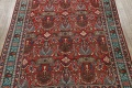 All-Over Pictorial Tabriz Persian Area Rug 9x11 image 3