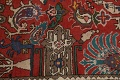 All-Over Pictorial Tabriz Persian Area Rug 9x11 image 10