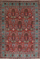 All-Over Pictorial Tabriz Persian Area Rug 9x11 image 1
