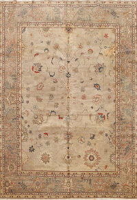 Floral Oushak Persian Area Rug 8x10