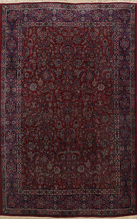 Antique Floral Sparta Turkish Oriental Area Rug 9x12