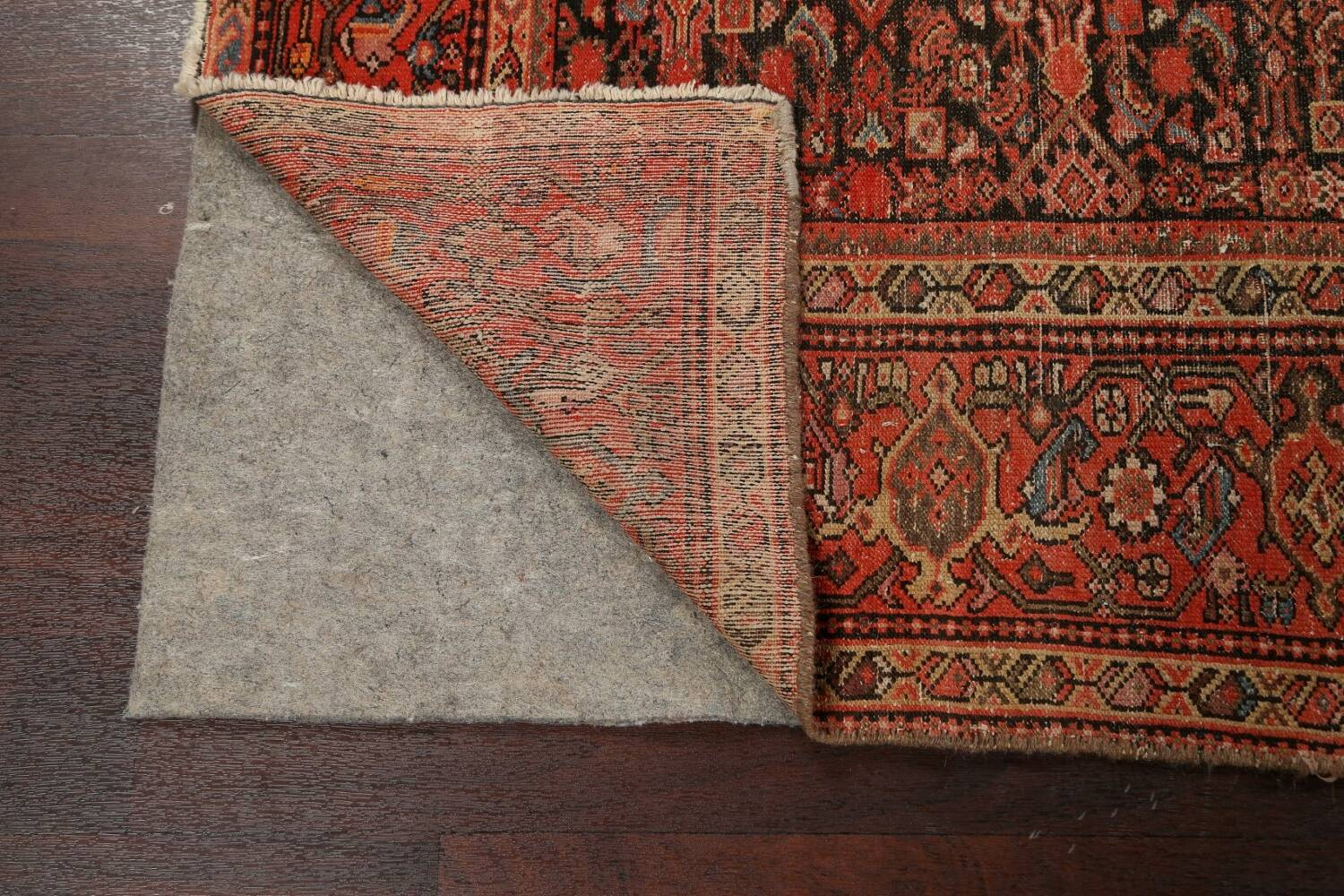Pre-1900 Antique Vegetable Dye Malayer Persian Area Rug 5x10 image 7
